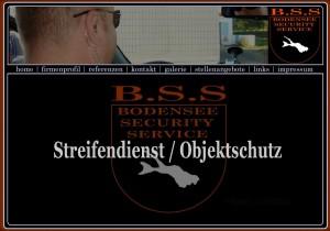 Homepage des Sicherheitsdienstes