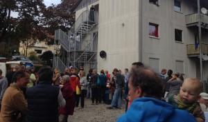 Flüchtlingsfest in Singen