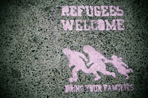Fluechtlinge_Refugees_welcome