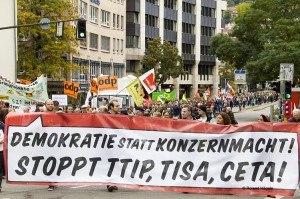 Demokratie statt Konzernmacht! Stoppt TTIP, TISA, CETA!