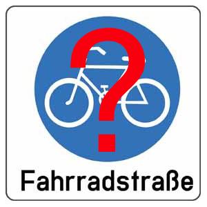 Fahrradstr-Piktogramm