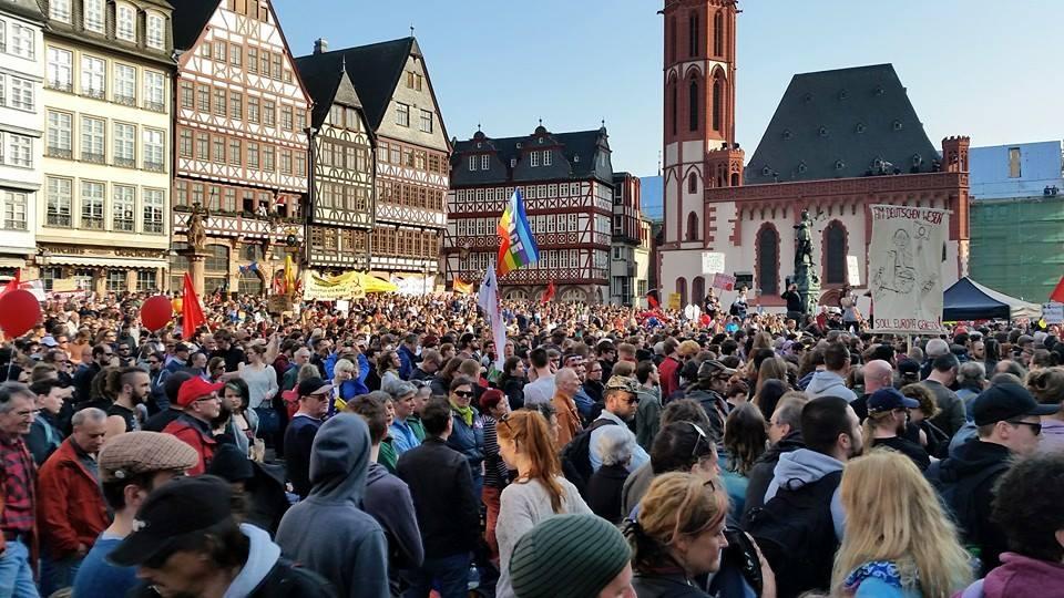 Blockupy 2015: Kundgebung