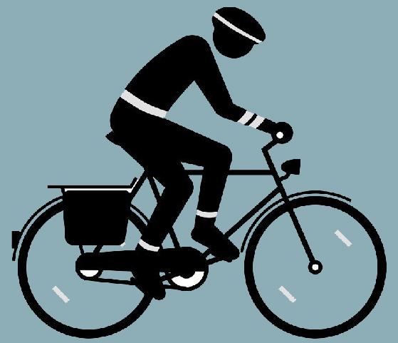 FahrradfahrerPiktogramm