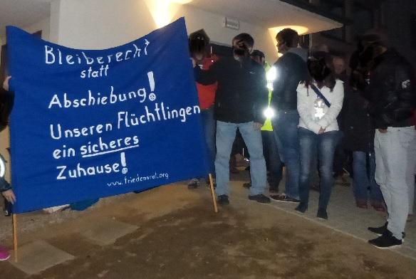 Müllheim: Aktion gegen Abschiebung