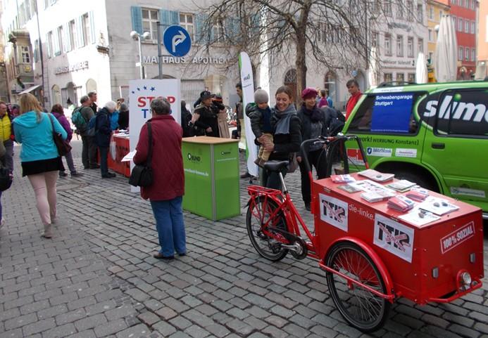 Aktionstag gegen TTIP, CETA und TiSA in Konstanz