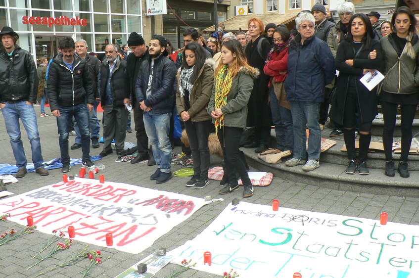Stoppt den Staatsterror der Türkei