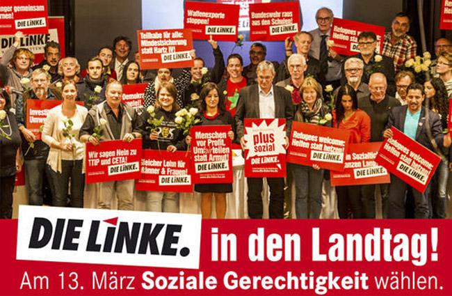 LINKE-Gruppenbild
