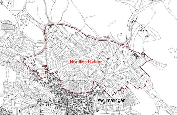 Nördlich Hafner Karte
