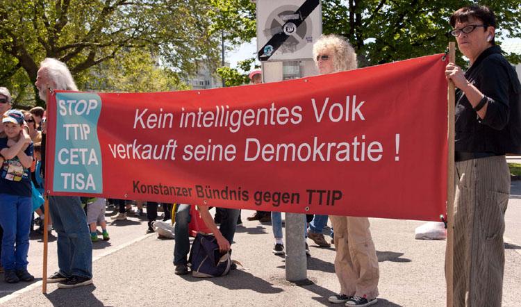 No-TTIP-Demo Konstanz